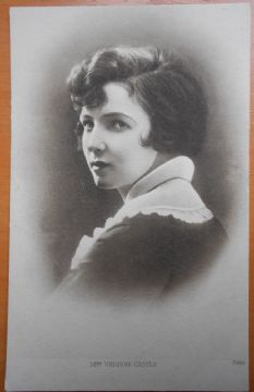 Mrs Vernon Castle, Ballroom, Vintage Postcard, Pathe Freres Cinema Ltd, c1916